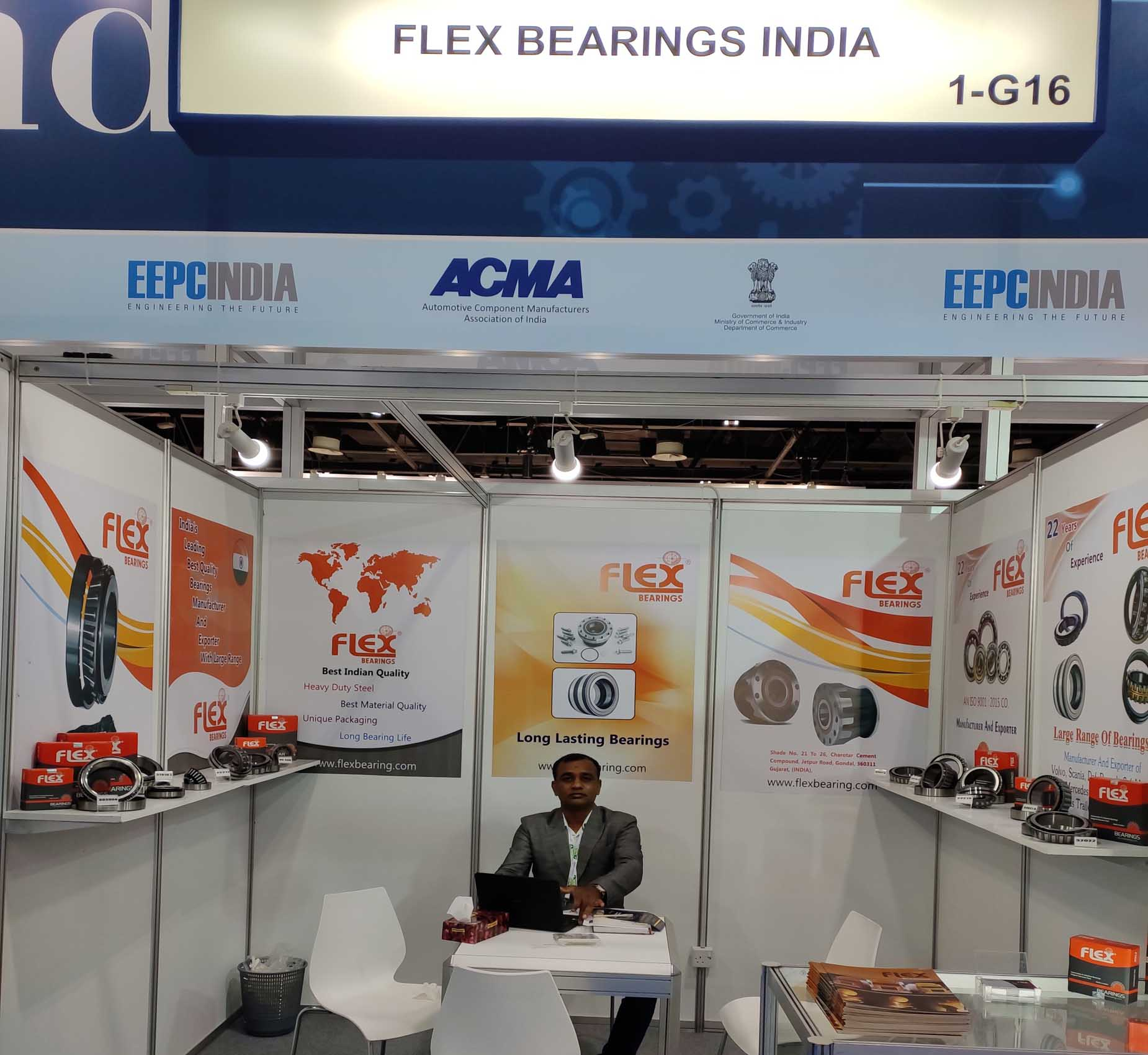Automechanika DUBAI flexbearing