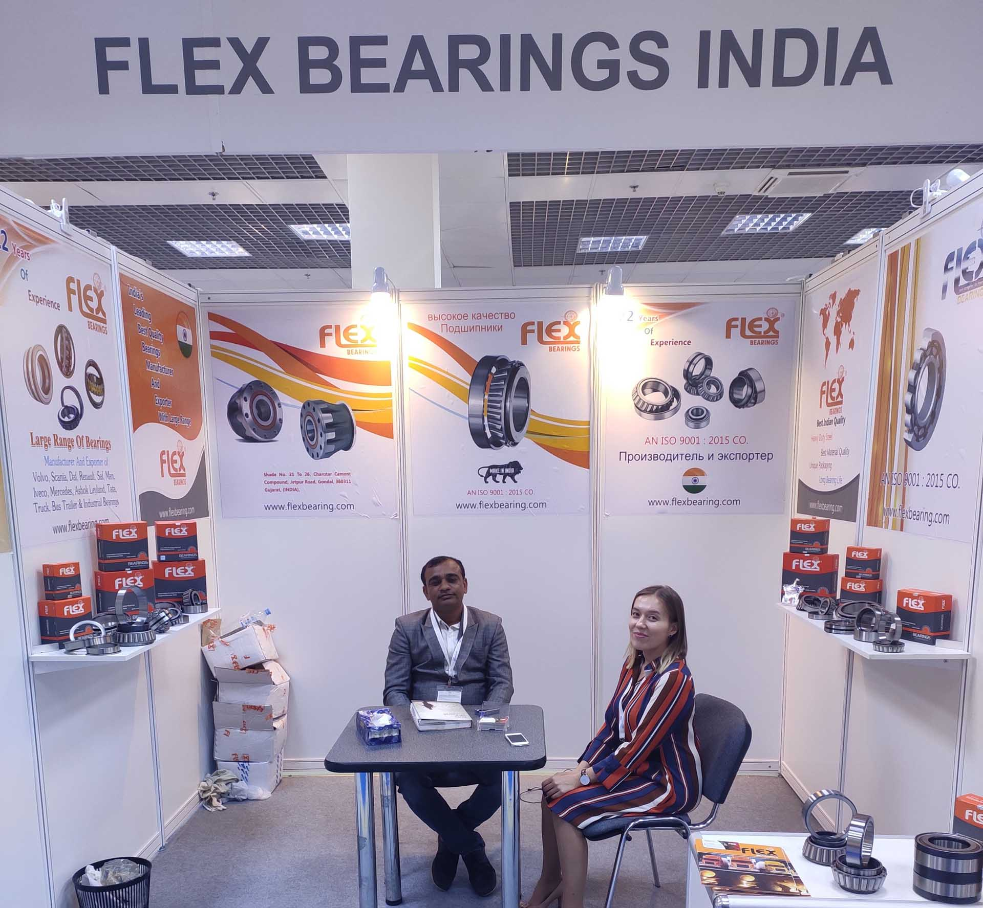 Automechanika Moscow flexbearing
